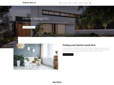 Website demo 2